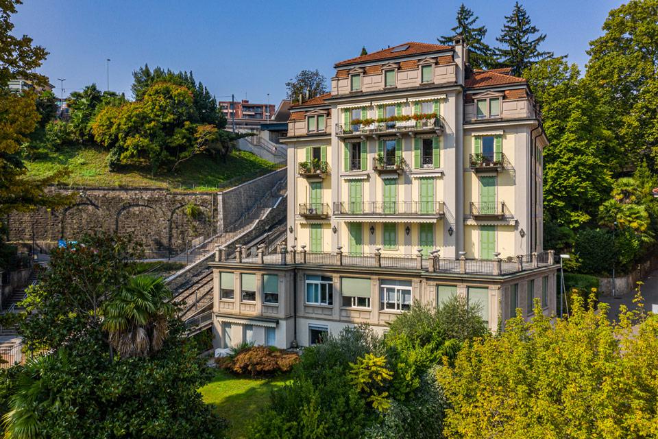 Prestigioso appartamento nel cuore di Lugano Palazzo Adler